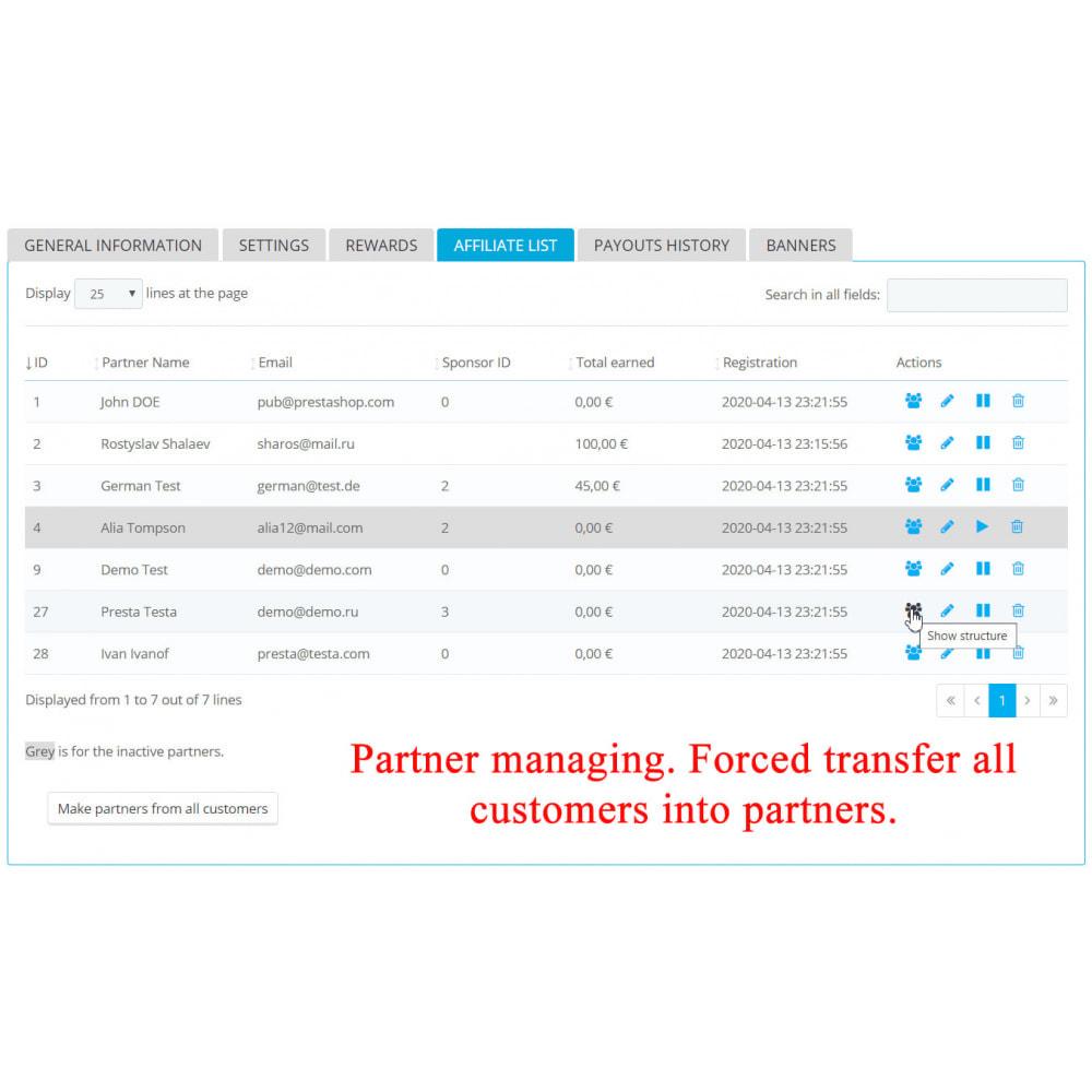 module - Indicizzazione a pagamento (SEA SEM) & Affiliazione - Extended Affiliate Program RefPRO - 6