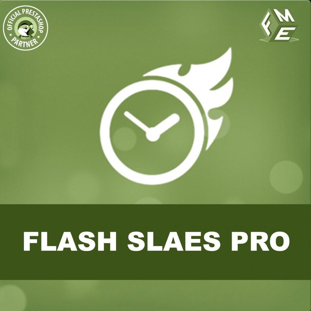 module - Ventas Privadas y Ventas Flash - Flash Sales Pro - Descuento con Cuenta Regresiva - 1