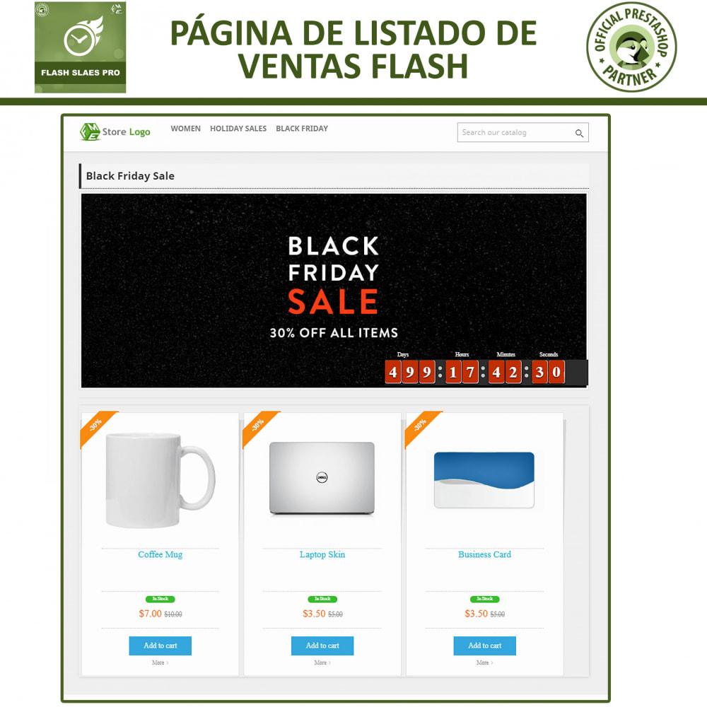 module - Ventas Privadas y Ventas Flash - Flash Sales Pro - Descuento con Cuenta Regresiva - 4
