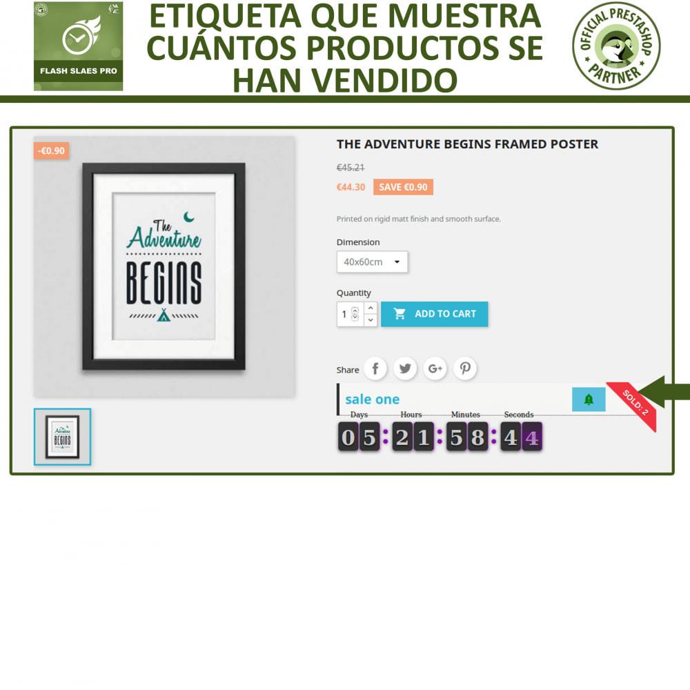 module - Ventas Privadas y Ventas Flash - Flash Sales Pro - Descuento con Cuenta Regresiva - 6