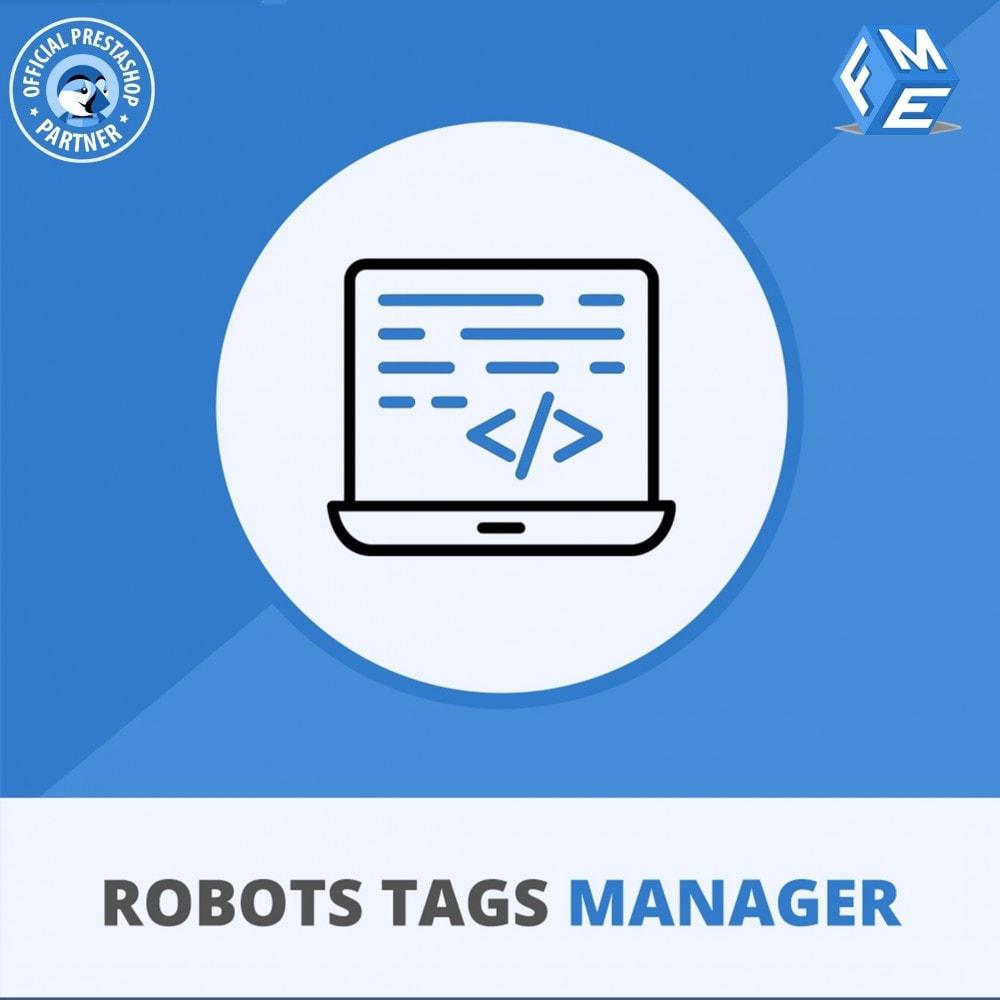 module - SEO (Pozycjonowanie naturalne) - Meta Robot Tags - NoFollow NoIndex Manager - 1