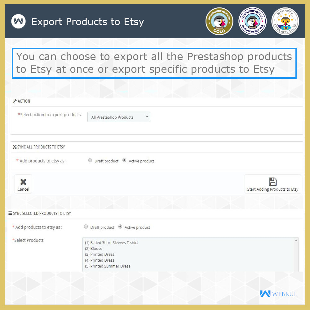 module - Marketplace - Etsy Connector - 4