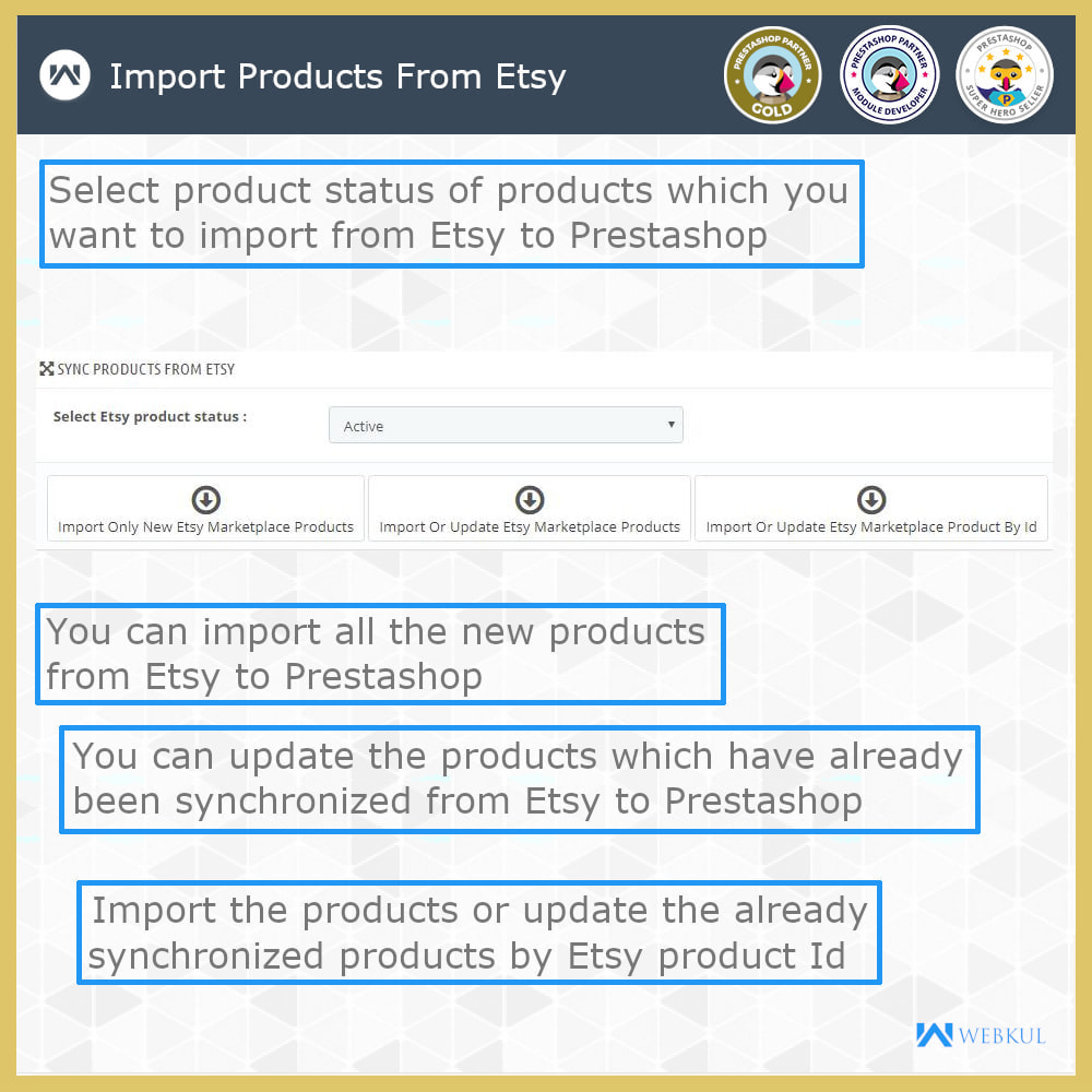 module - Marketplace - Etsy Connector - 5