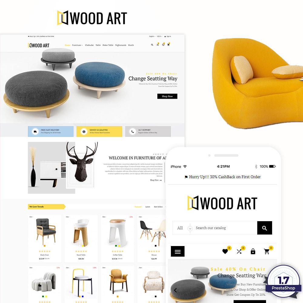 theme - Huis & Buitenleven - Wood Art Furniture–Wood Home–Decor Mega Super Store - 1