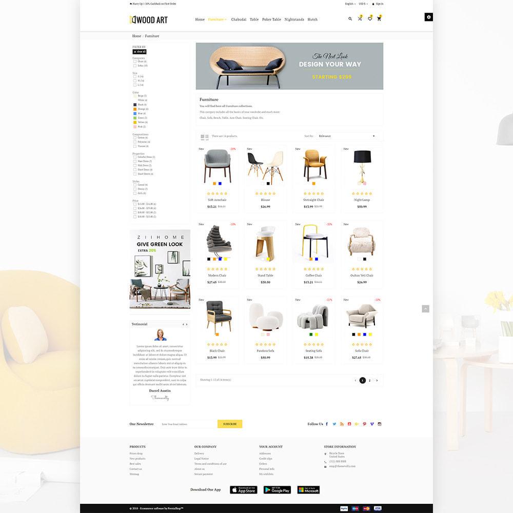 theme - Huis & Buitenleven - Wood Art Furniture–Wood Home–Decor Mega Super Store - 3