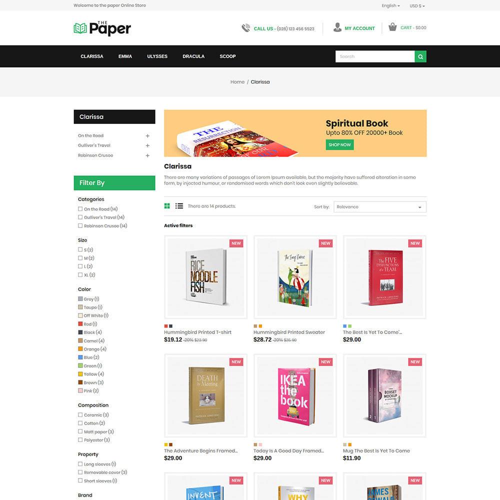theme - Arte & Cultura - The Paper - Book Store - 4