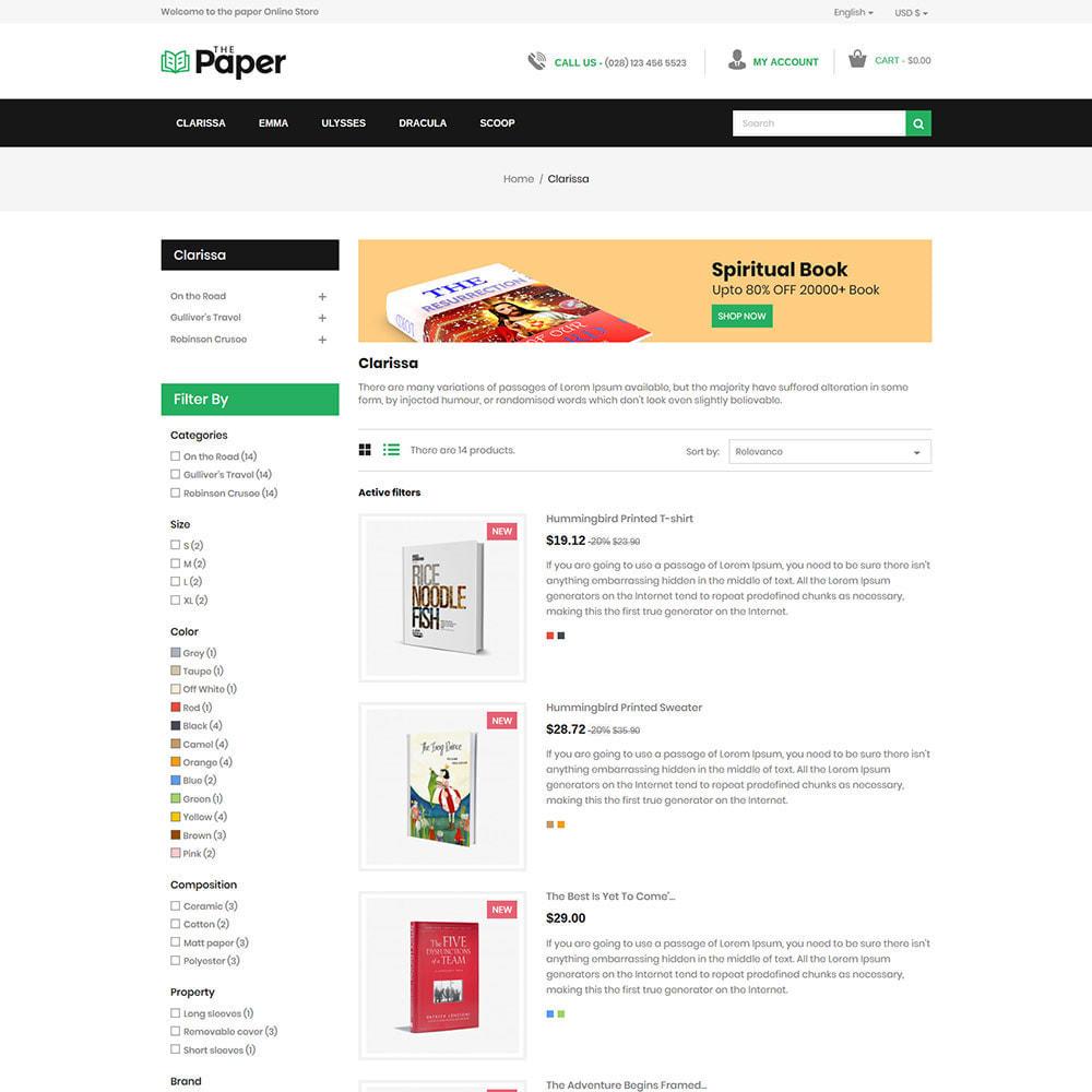 theme - Arte & Cultura - The Paper - Book Store - 5