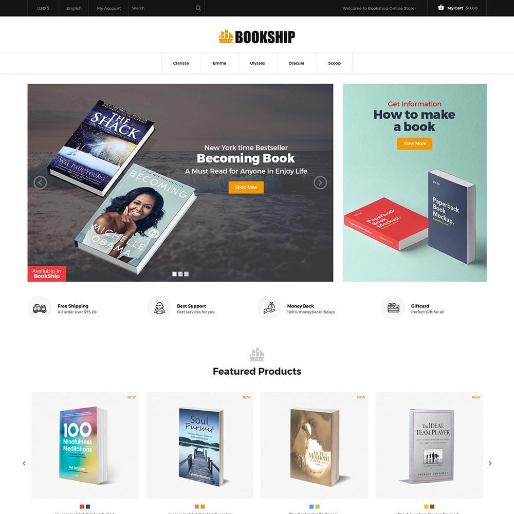 theme - Art & Culture - Bookship - Book Online Library Magazine Store - 3