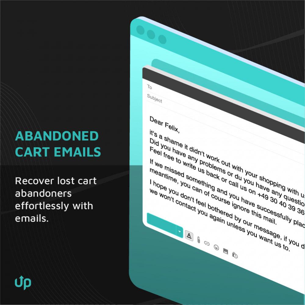 module - Перенаправление и Брошенные корзины - Conversion Optimization: Popups & Abandoned Cart Emails - 3