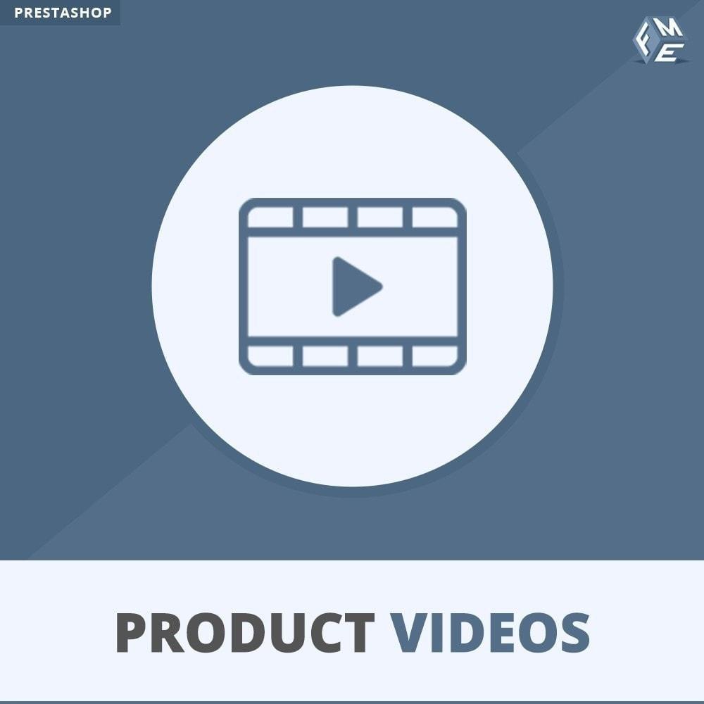 module - Vídeos y Música - Product Videos - Upload or Embed YouTube, Vimeo - 1