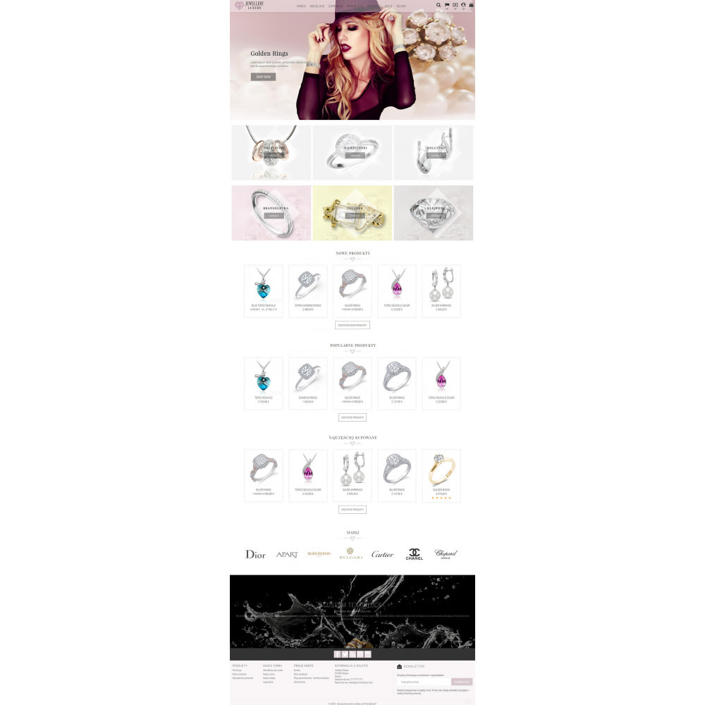 theme - Biżuteria & Akcesoria - Jewellery Luxury - 2