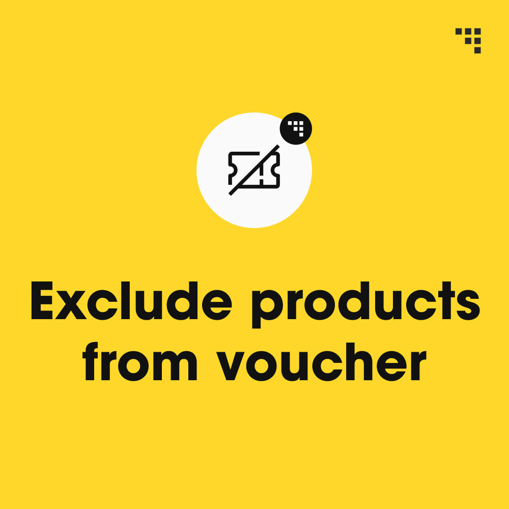 module - Promotions & Cadeaux - Exclude Products from Voucher - 1