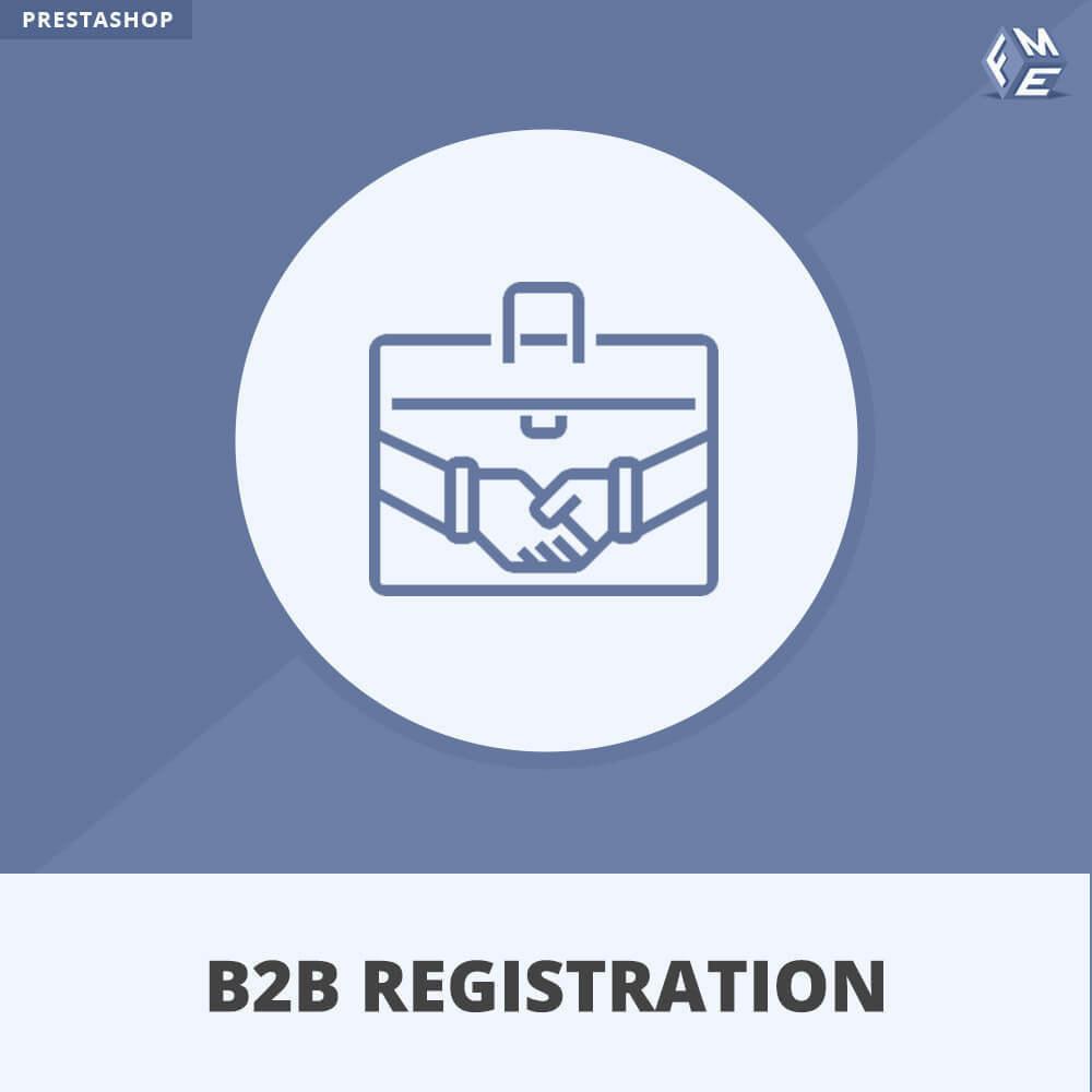 module - Iscrizione e Processo di ordinazione - Registrazione B2B - 1