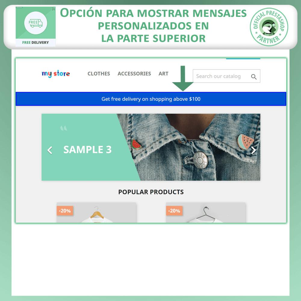 module - Gastos de transporte - Envío gratuito avanzado - 3