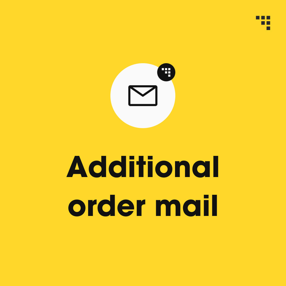 module - Gestione Ordini - Additional Order Mail - 1