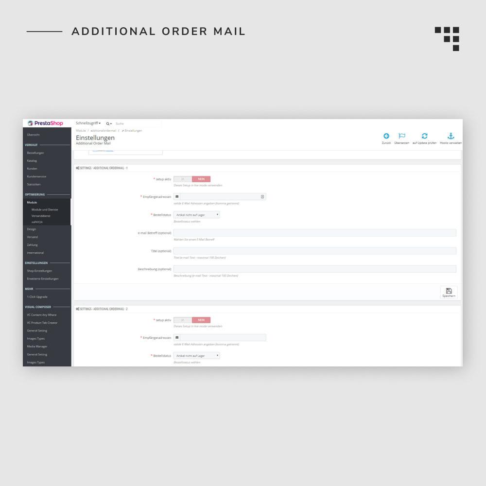 module - Gestione Ordini - Additional Order Mail - 6