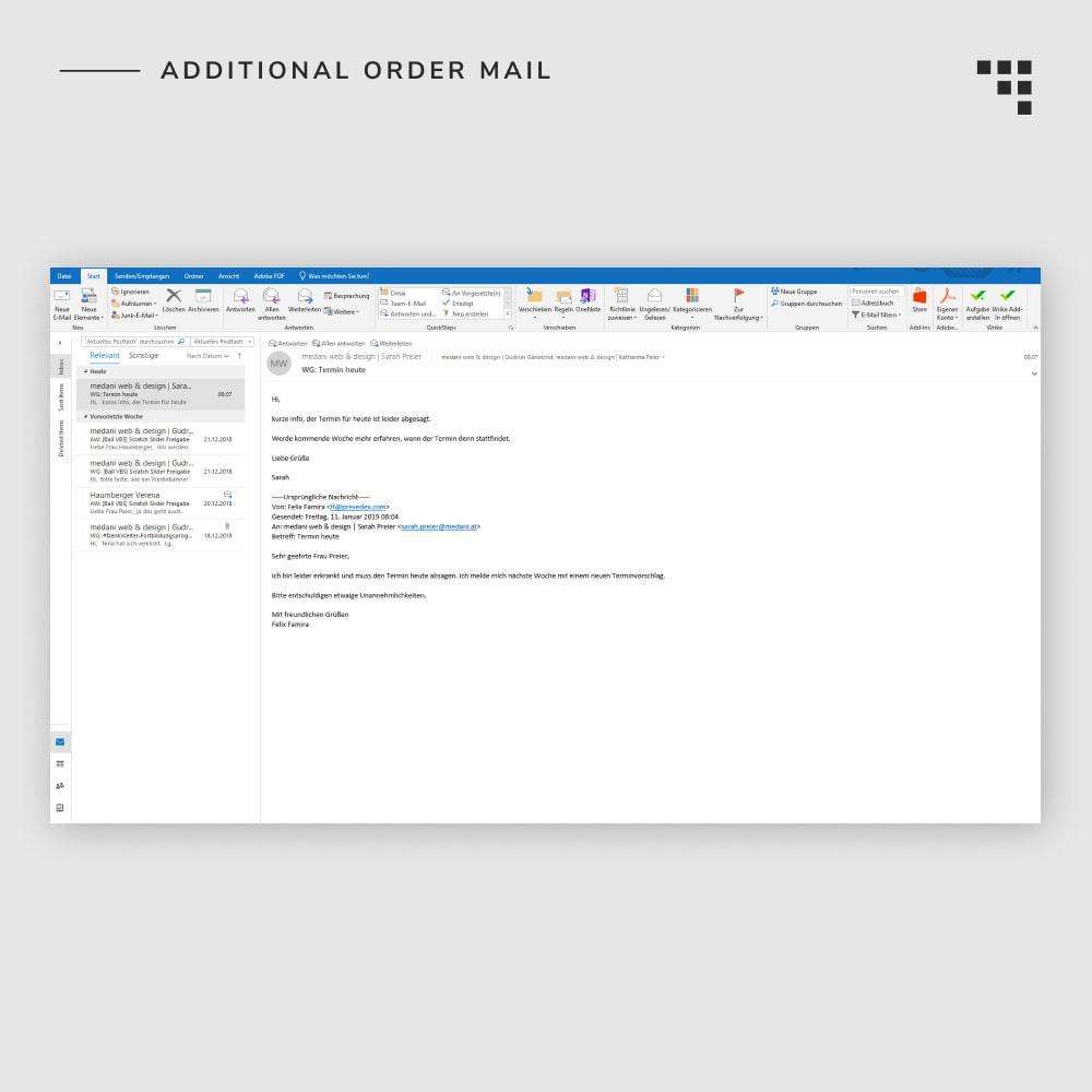 module - Gestione Ordini - Additional Order Mail - 7