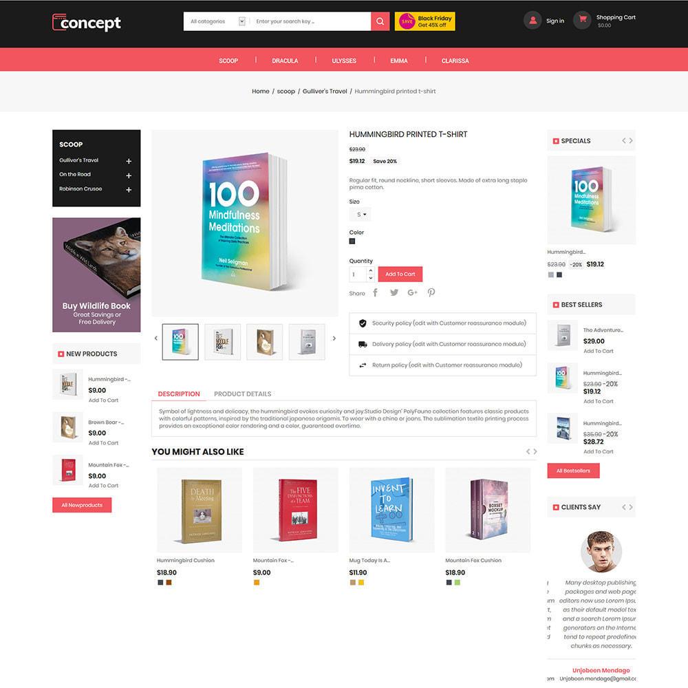 theme - Kultura & Sztuka - Concept Ebook Library - księgarnia internetowa - 6
