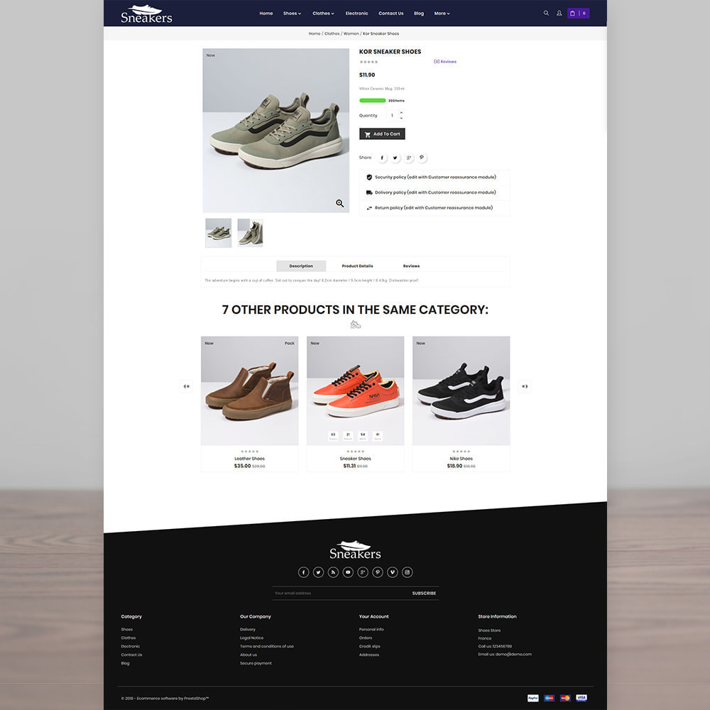 theme - Sport, Loisirs & Voyage - Sneakers The Sport Shoes Store - 4