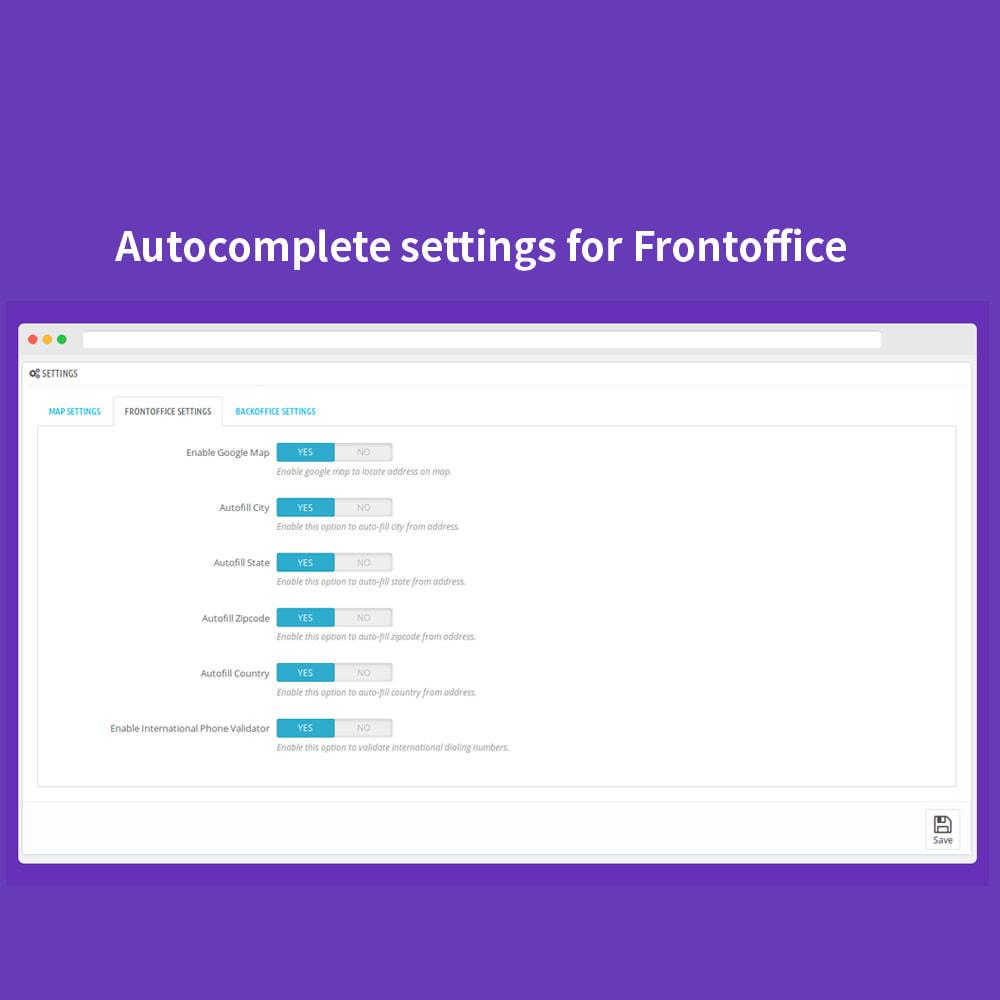 module - Proceso rápido de compra - Autocomplete Google Address - 3