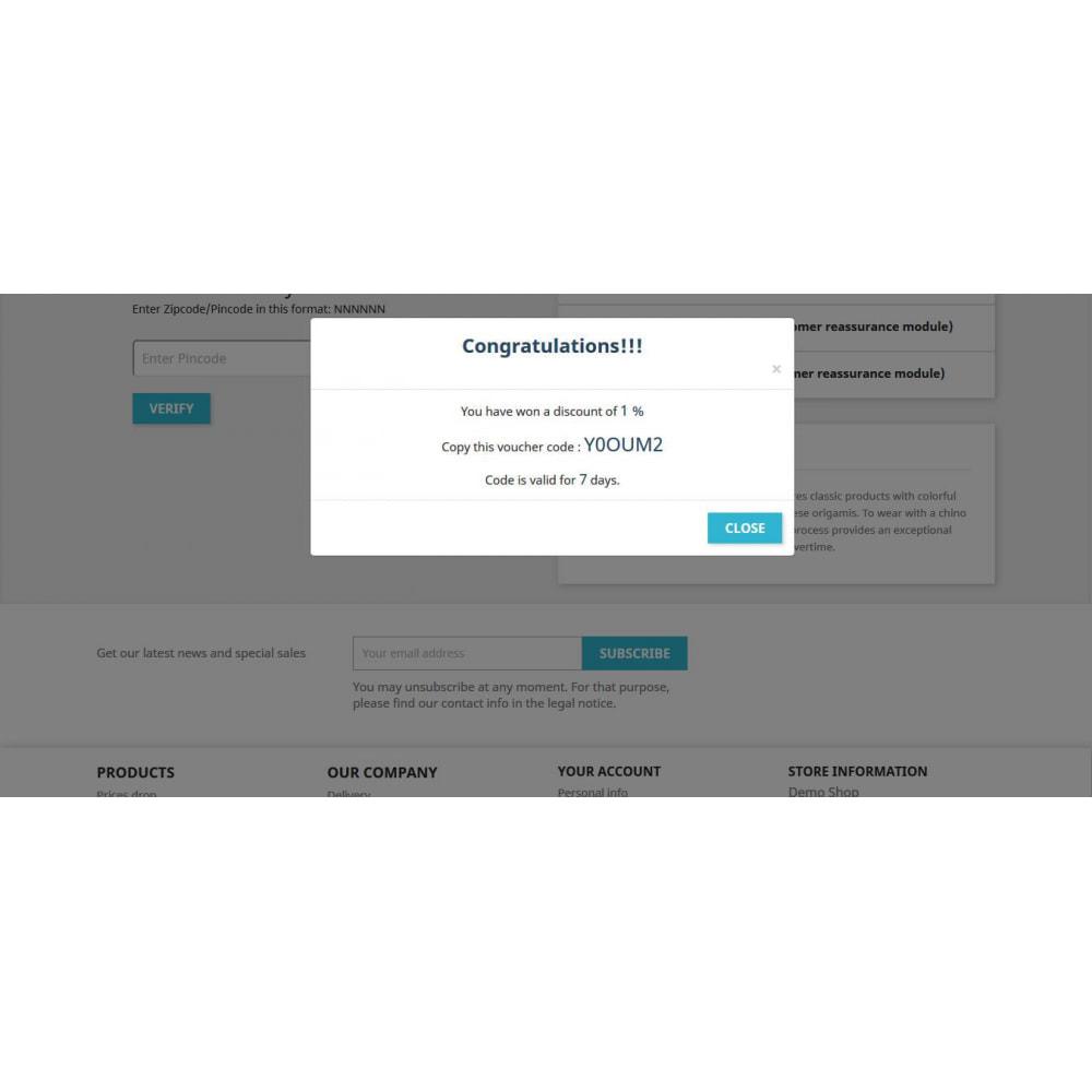 module - Deelknoppen & Commentaren - Share and Win Discount - 4