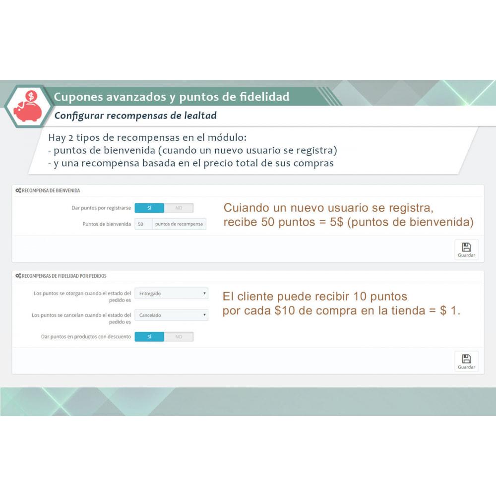 module - Descuentos en redes sociales - Cupones avanzados y puntos de fidelidad - 8