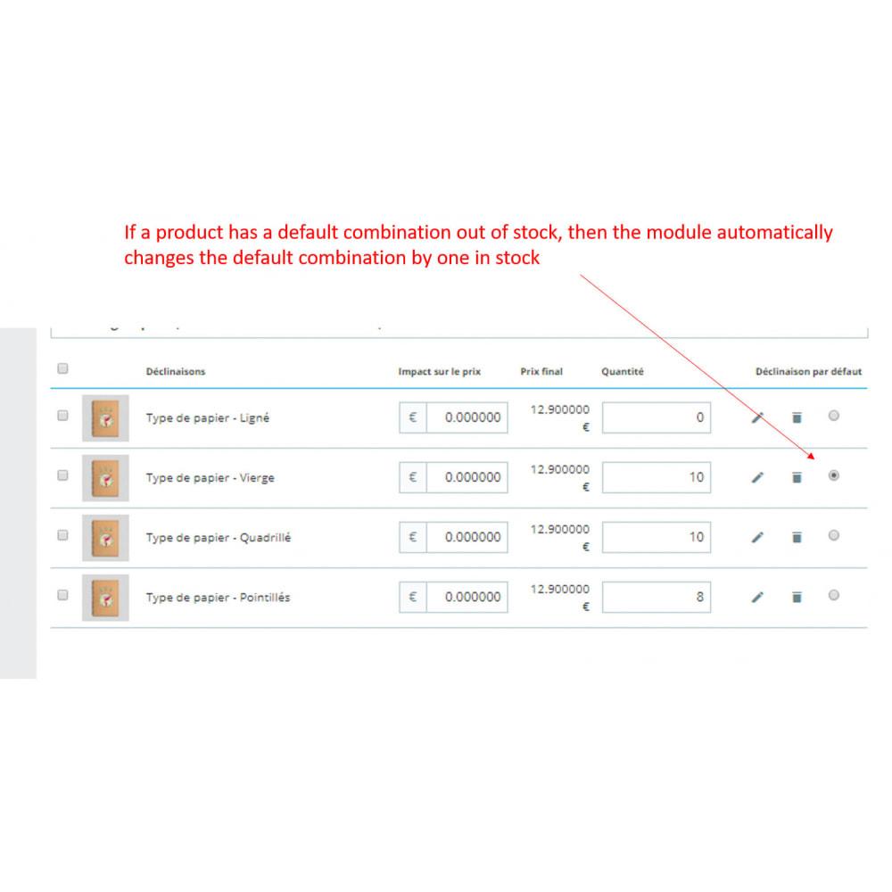 module - Combinazioni & Personalizzazione Prodotti - combination in stock first - 1