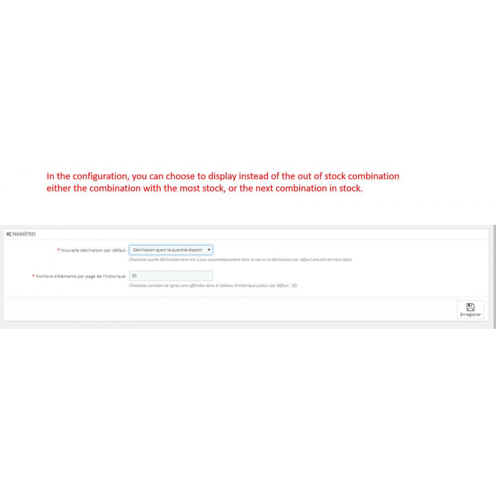 module - Combinazioni & Personalizzazione Prodotti - combination in stock first - 3