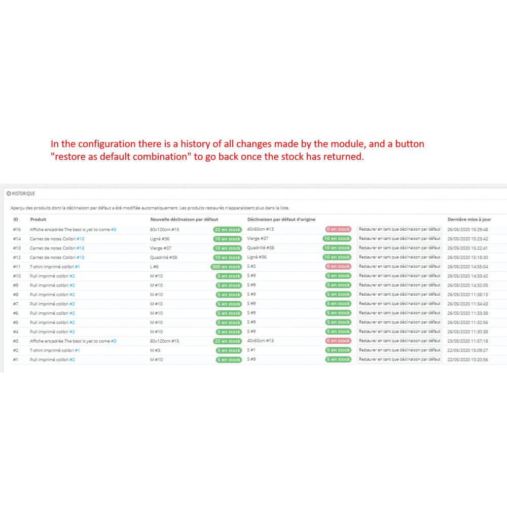 module - Combinazioni & Personalizzazione Prodotti - combination in stock first - 4