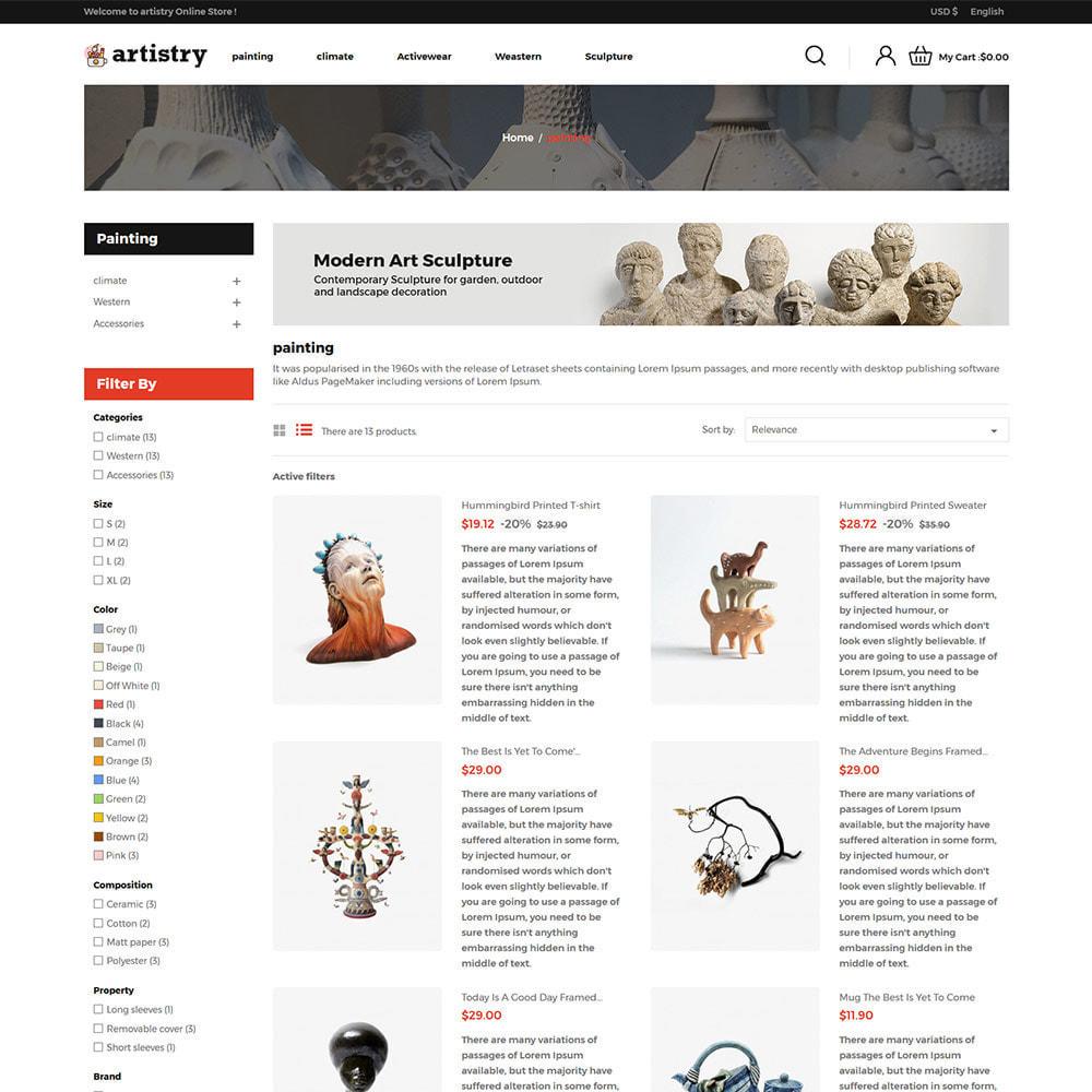 theme - Art & Culture - Artist - Paint Artisanat Art Store - 5