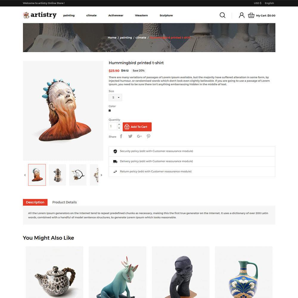 theme - Arte y Cultura - Artista - Tienda de arte Paint Handcraft - 6