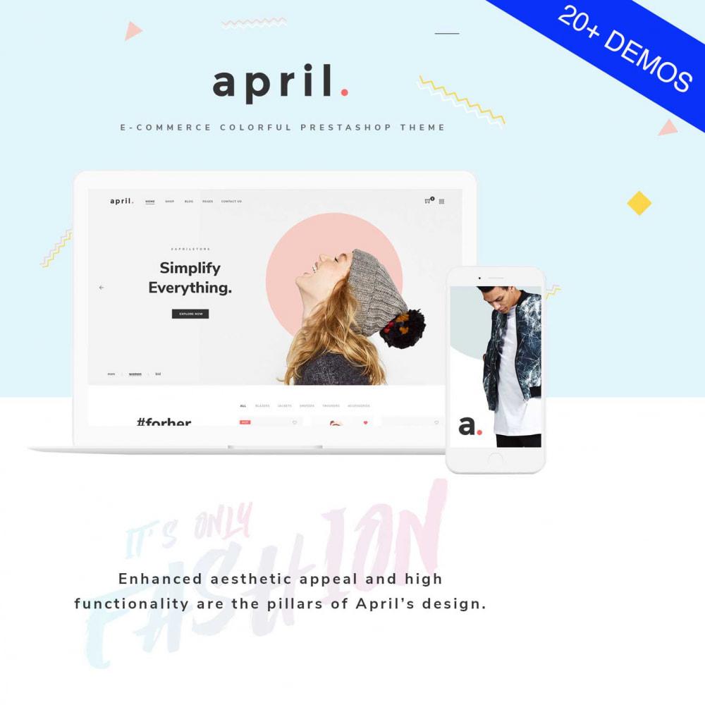 theme - Fashion & Shoes - April  Store eCommerce Bootstrap 4 - 1