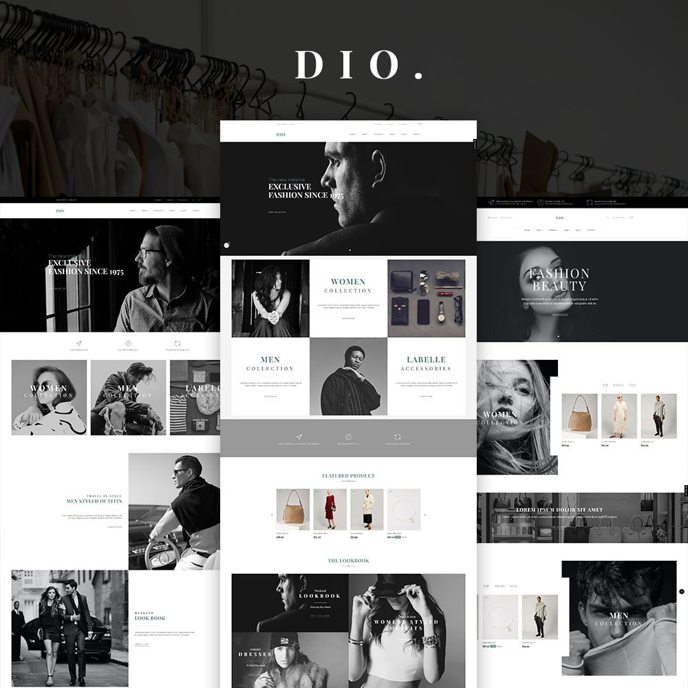 theme - Moda & Obuwie - Dio - The Fashion Store - 1