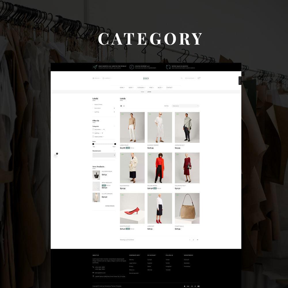theme - Moda & Obuwie - Dio - The Fashion Store - 2