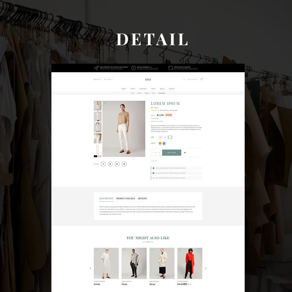 theme - Moda & Obuwie - Dio - The Fashion Store - 3