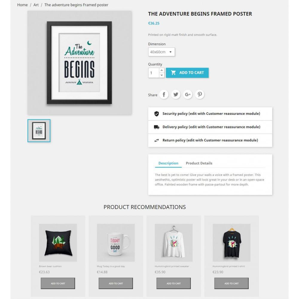 module - Vendas cruzadas & Pacotes de produtos - Product Recommendations by engage - 1