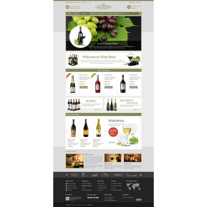 theme - Drink & Tobacco - Leo Wines - 5