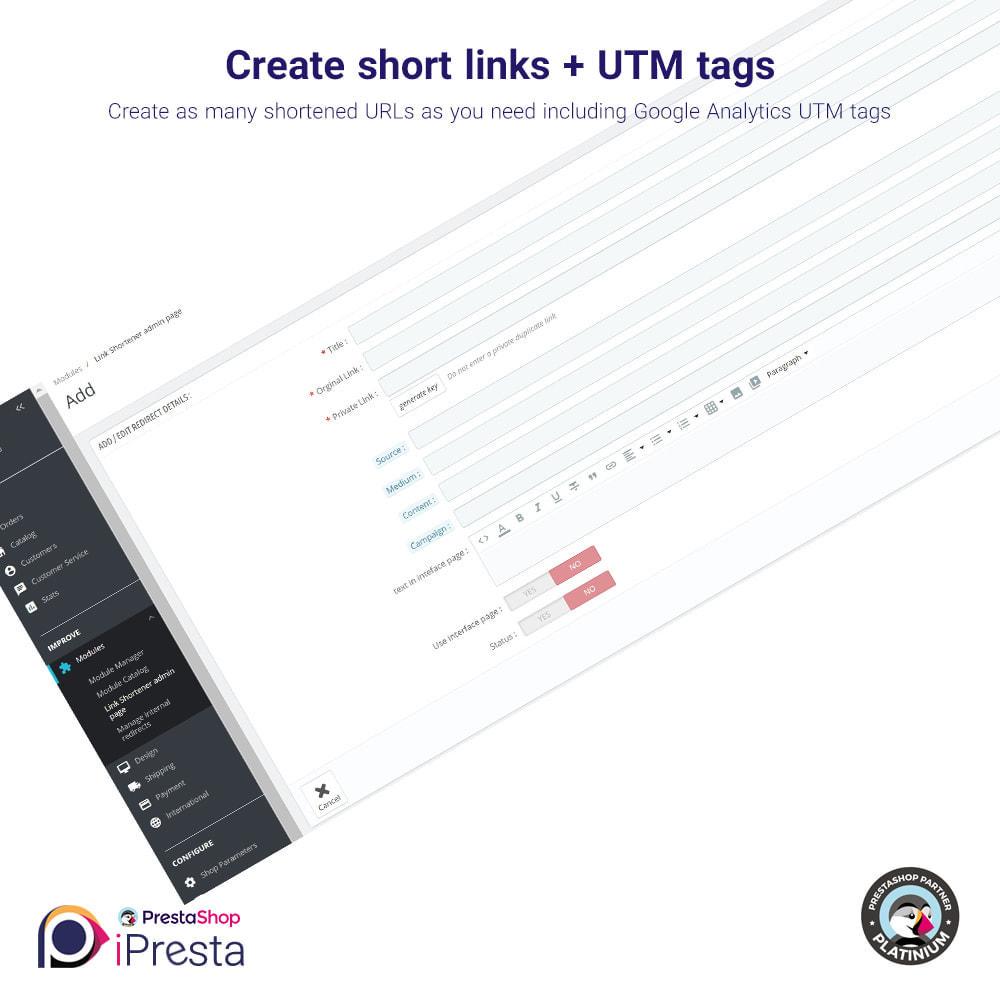 module - URL & Redirects - URL Shortener and Internal Redirects Manager - 4