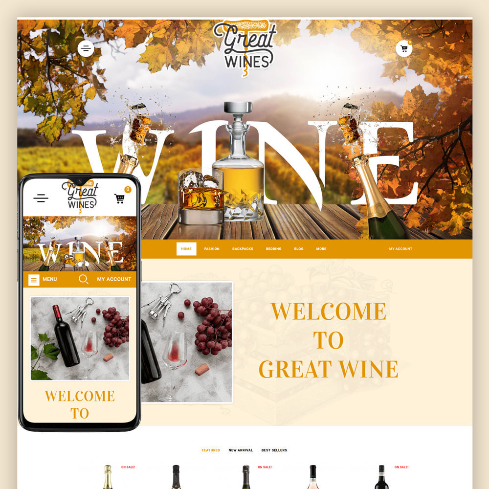 theme - Getränke & Tabak - Greatwine - Wine Store - 1