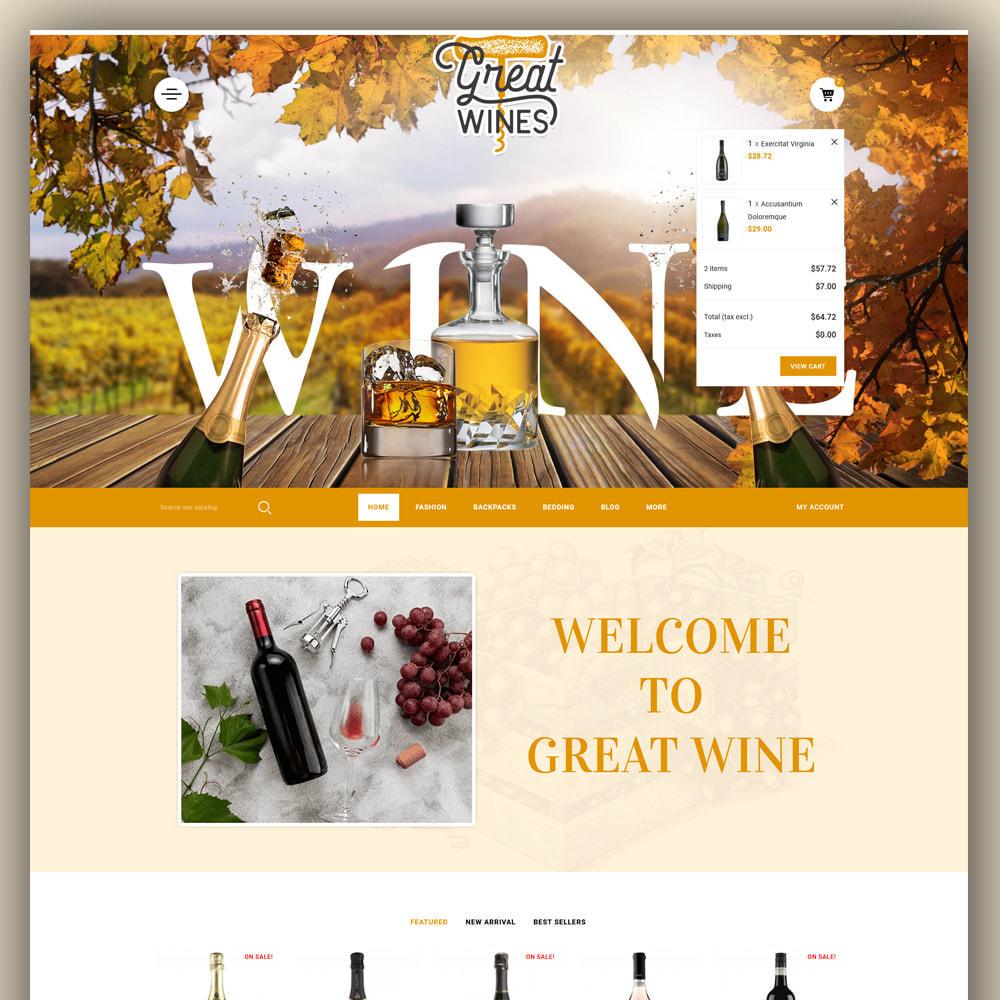 theme - Getränke & Tabak - Greatwine - Wine Store - 3