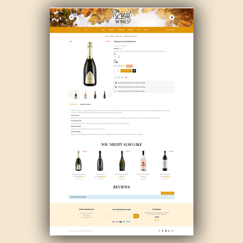 theme - Getränke & Tabak - Greatwine - Wine Store - 6