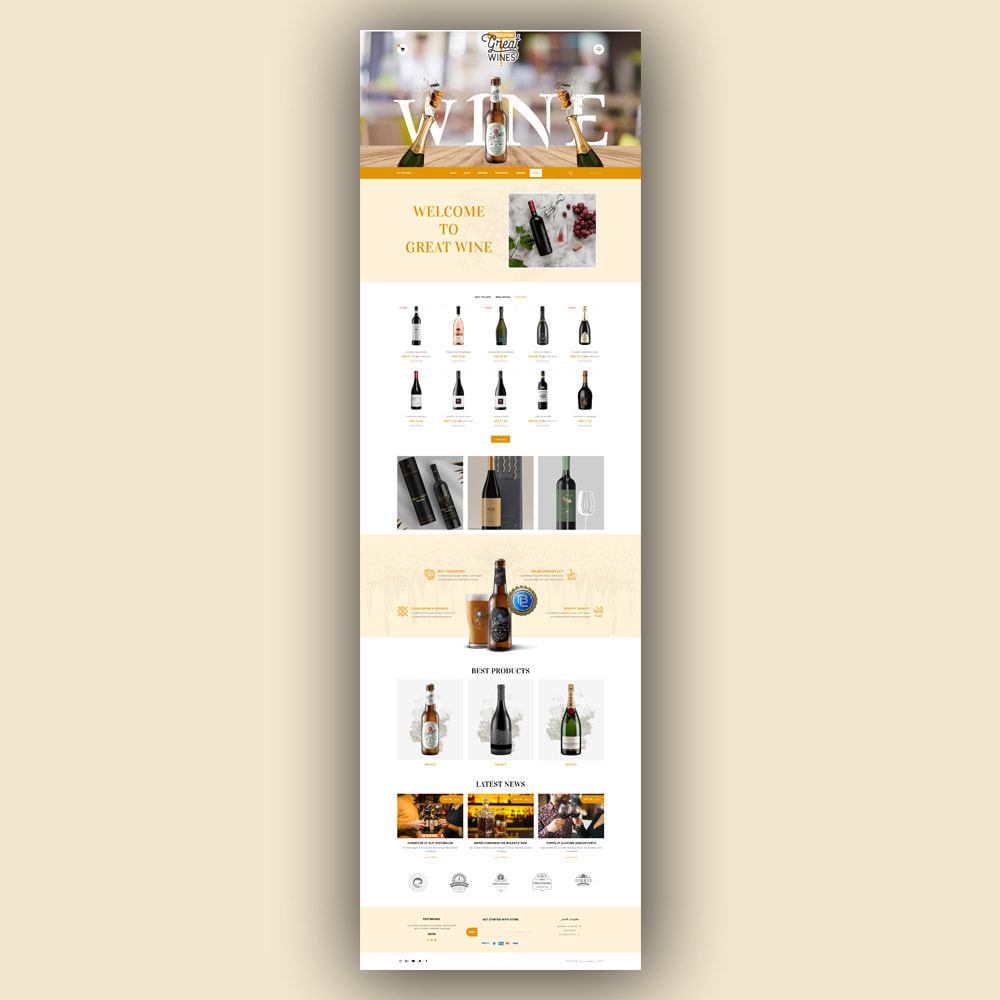 theme - Getränke & Tabak - Greatwine - Wine Store - 8