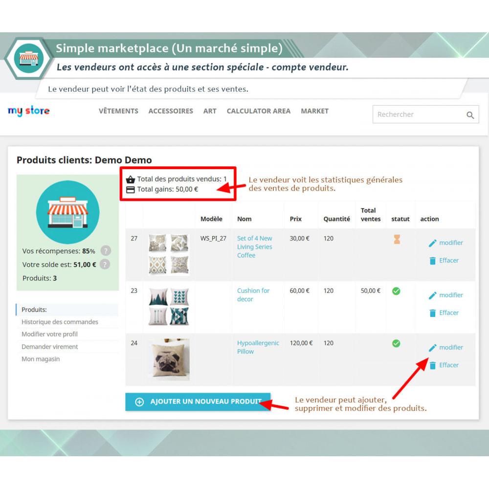 module - Création de Marketplace - Simple Marketplace (Un marché simple) - 1