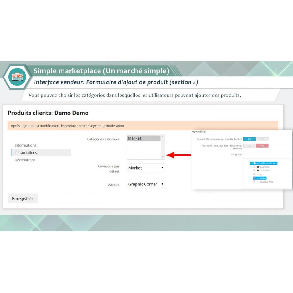 module - Création de Marketplace - Simple Marketplace (Un marché simple) - 3
