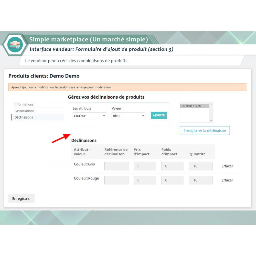 module - Création de Marketplace - Simple Marketplace (Un marché simple) - 4