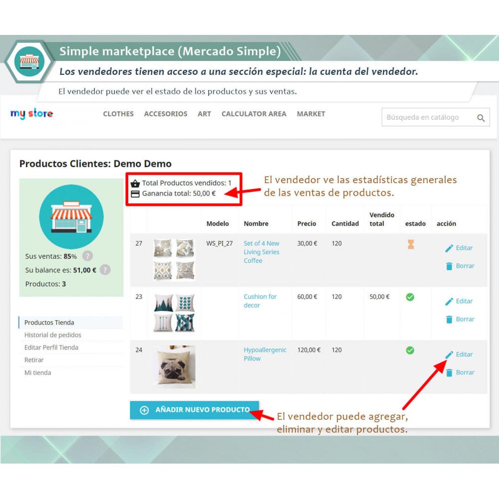 module - Creación de Marketplace - Simple Marketplace (Mercado Simple) - 1