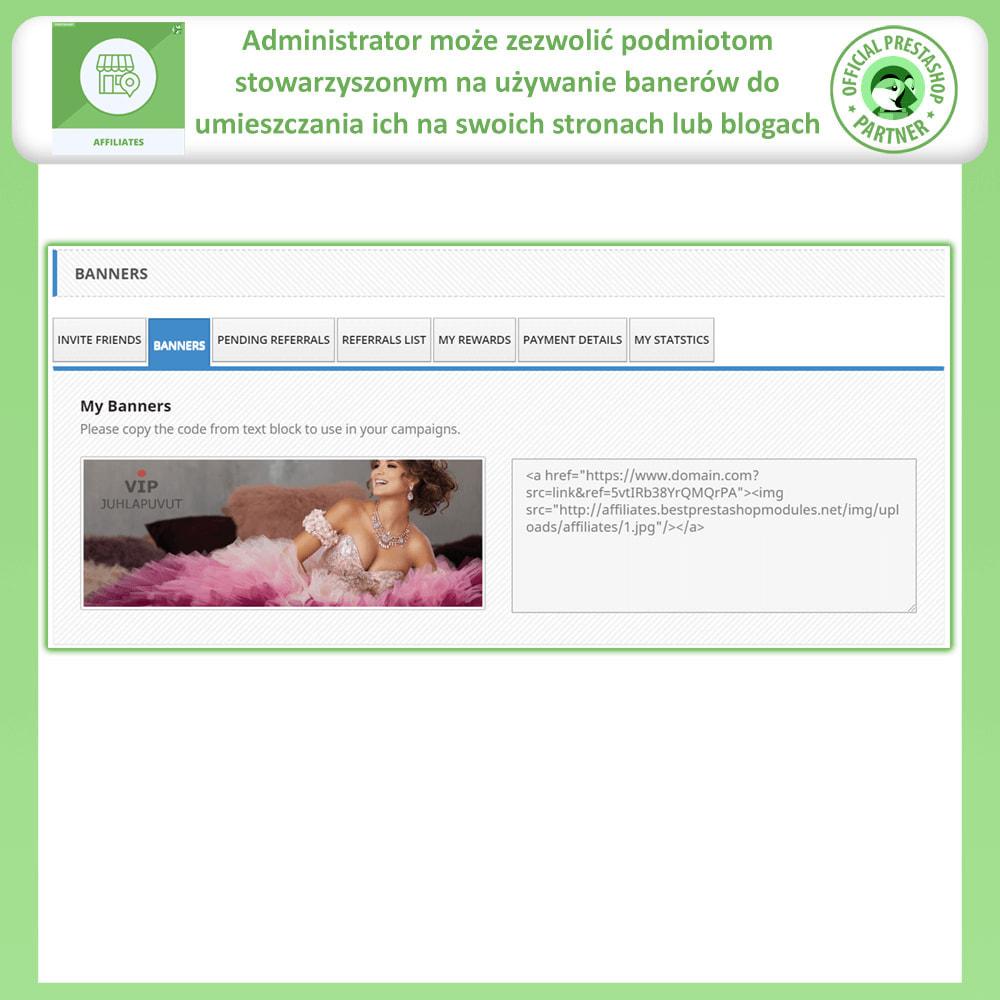 module - Płatne pozycjonowanie & Afiliacja - Affiliate i program poleceń - 5