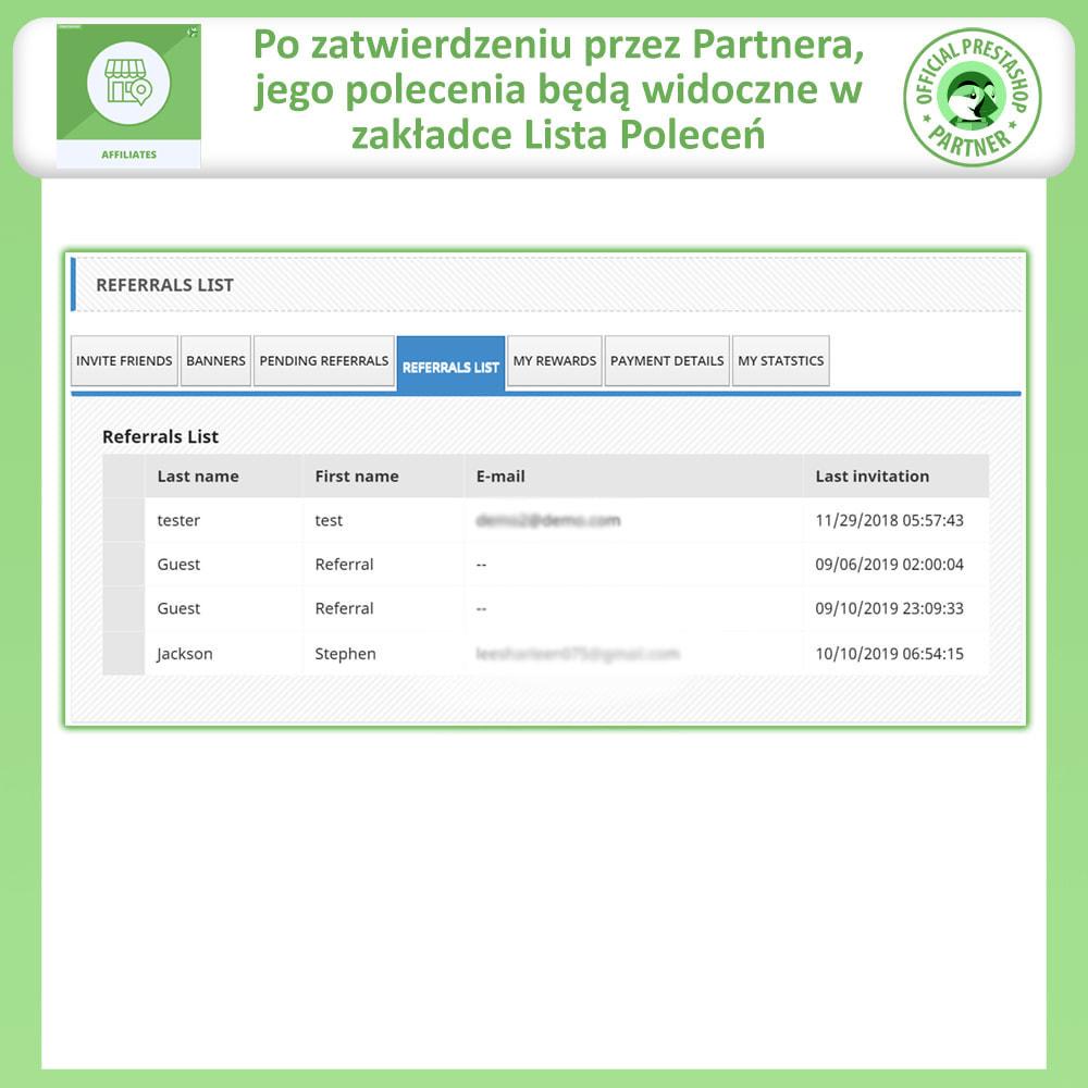 module - Płatne pozycjonowanie & Afiliacja - Affiliate i program poleceń - 7