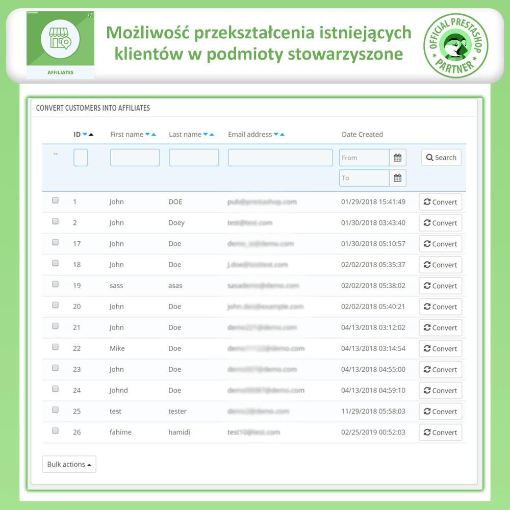 module - Płatne pozycjonowanie & Afiliacja - Affiliate i program poleceń - 25