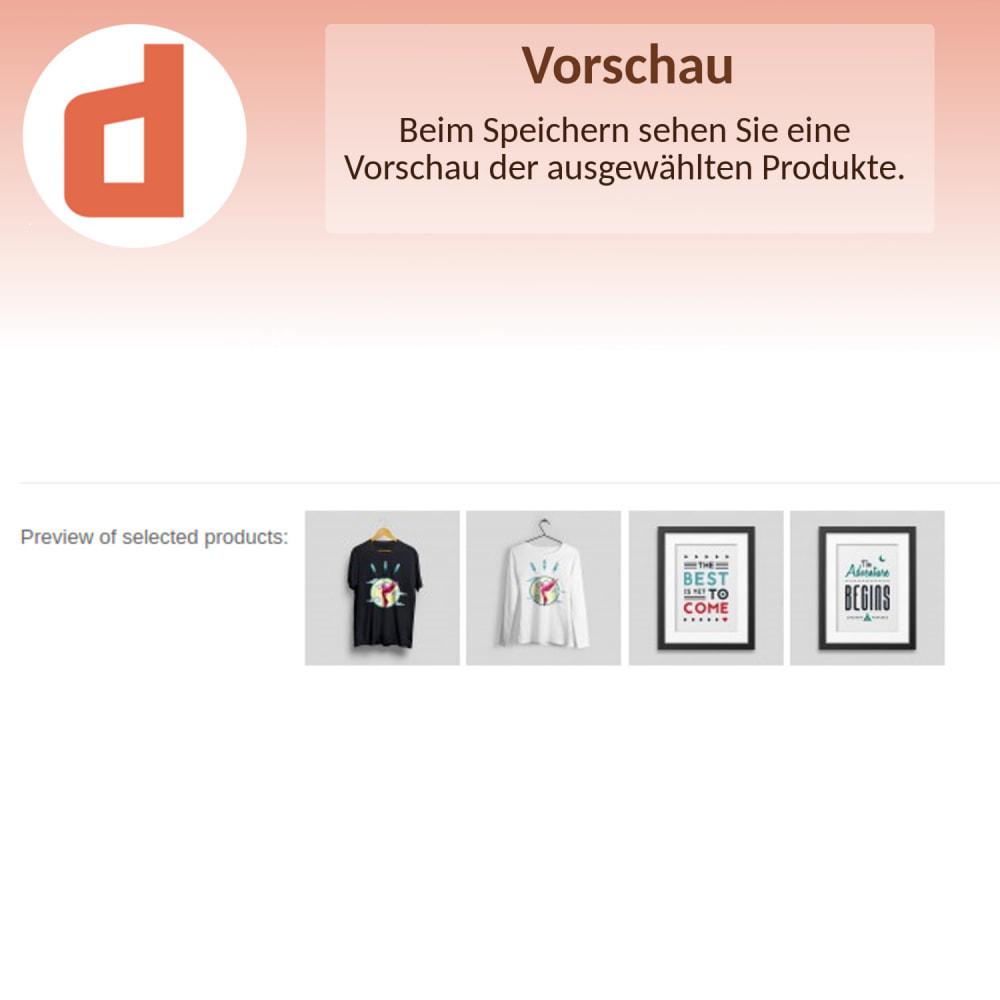 module - Produkte auf der Startseite - Ausgewählte Produkte von Ids - 4